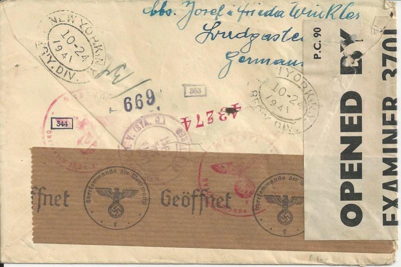 Österreich im III. Reich (Ostmark) Belege - Seite 12 Bild_287