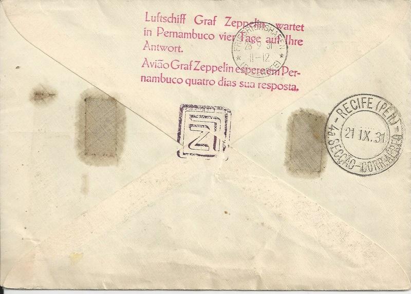 Zeppelinpost aus Brasilien Bild_290