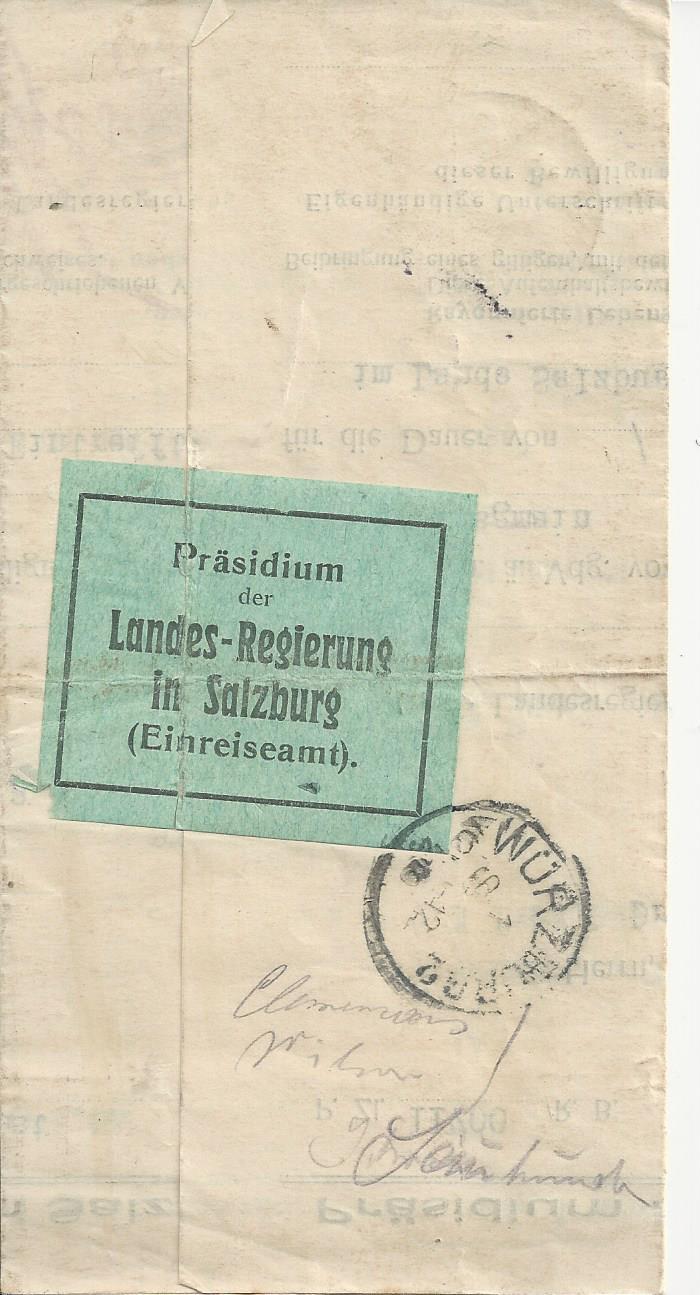 Inflation in Österreich - Belege - 1918 bis 1925 - Seite 16 Bild_294