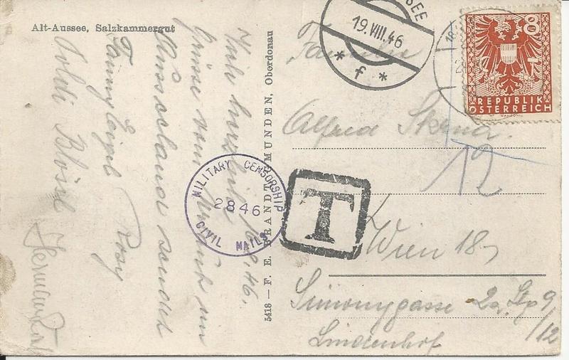 Wappenzeichnung  -  ANK 714-736 - Belege - Seite 4 Bild_318