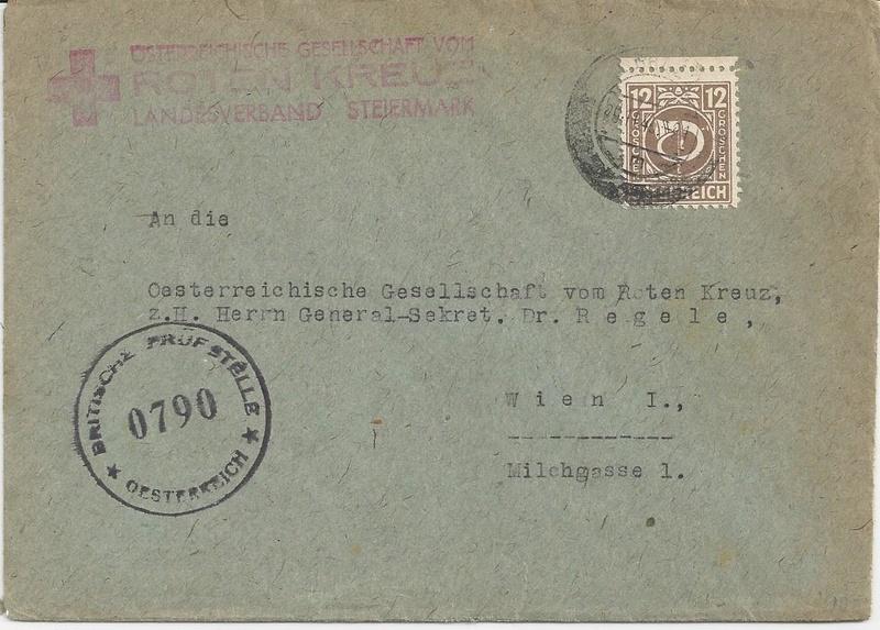 Posthornzeichnung  -  ANK 697-713  -  Belege - Seite 3 Bild_327