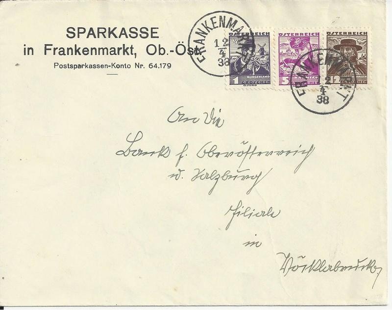 Briefe / Poststücke österreichischer Banken - Seite 4 Bild_331