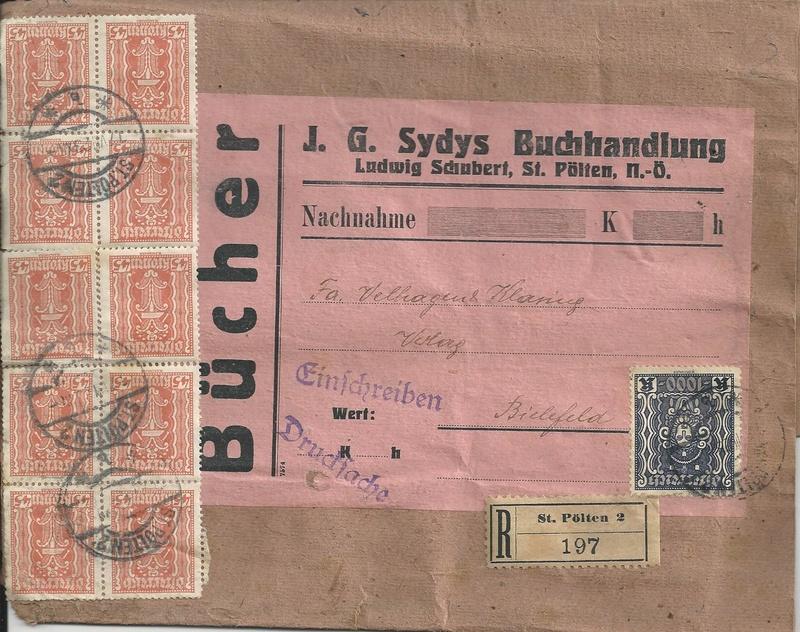 Inflation in Österreich - Belege - 1918 bis 1925 - Seite 14 Bild_350
