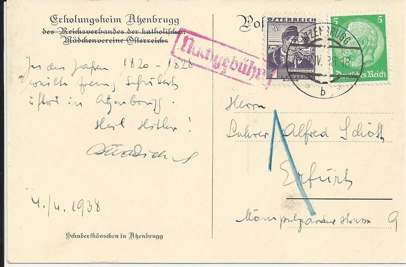Österreich im III. Reich (Ostmark) Belege - Seite 12 Bild_351