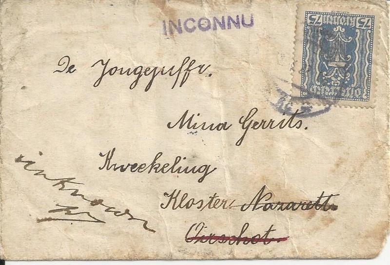 Irrläufer Belege Österreich // Sammlerpost International vor dem I. Weltkrieg Bild_354