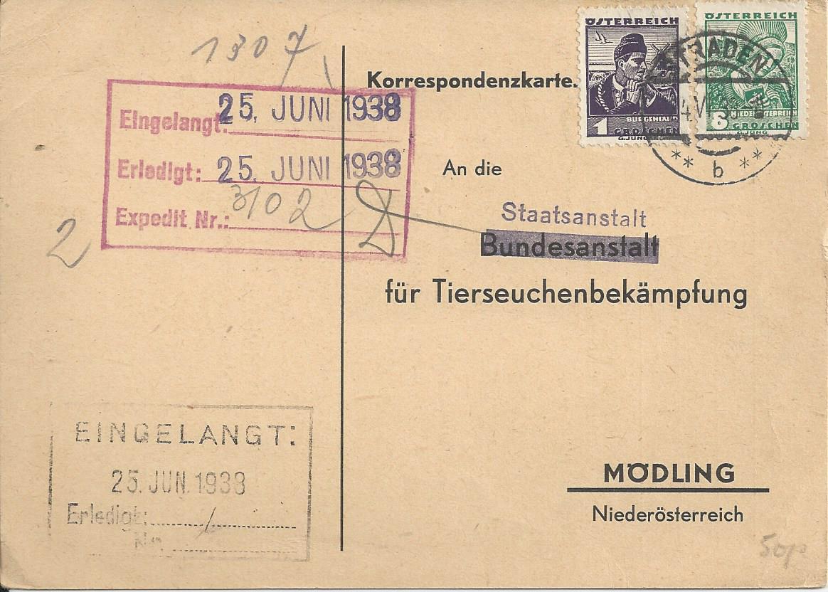 Österreich im III. Reich (Ostmark) Belege - Seite 13 Bild_377