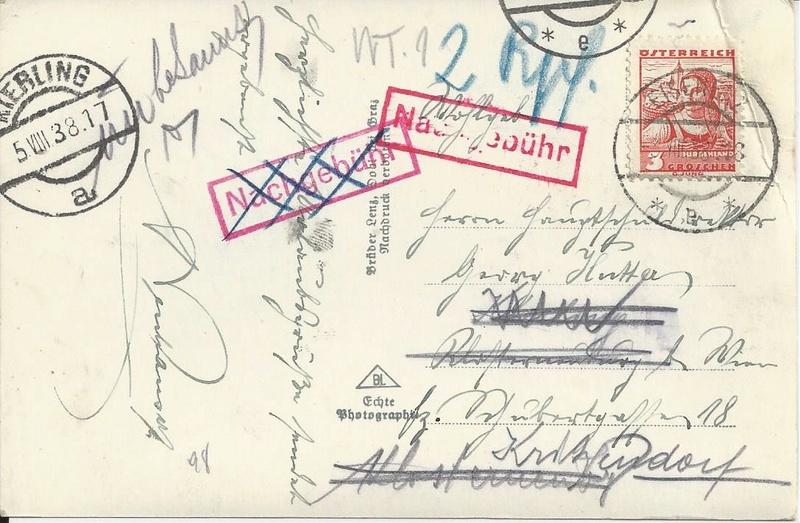 Österreich im III. Reich (Ostmark) Belege - Seite 12 Bild_443