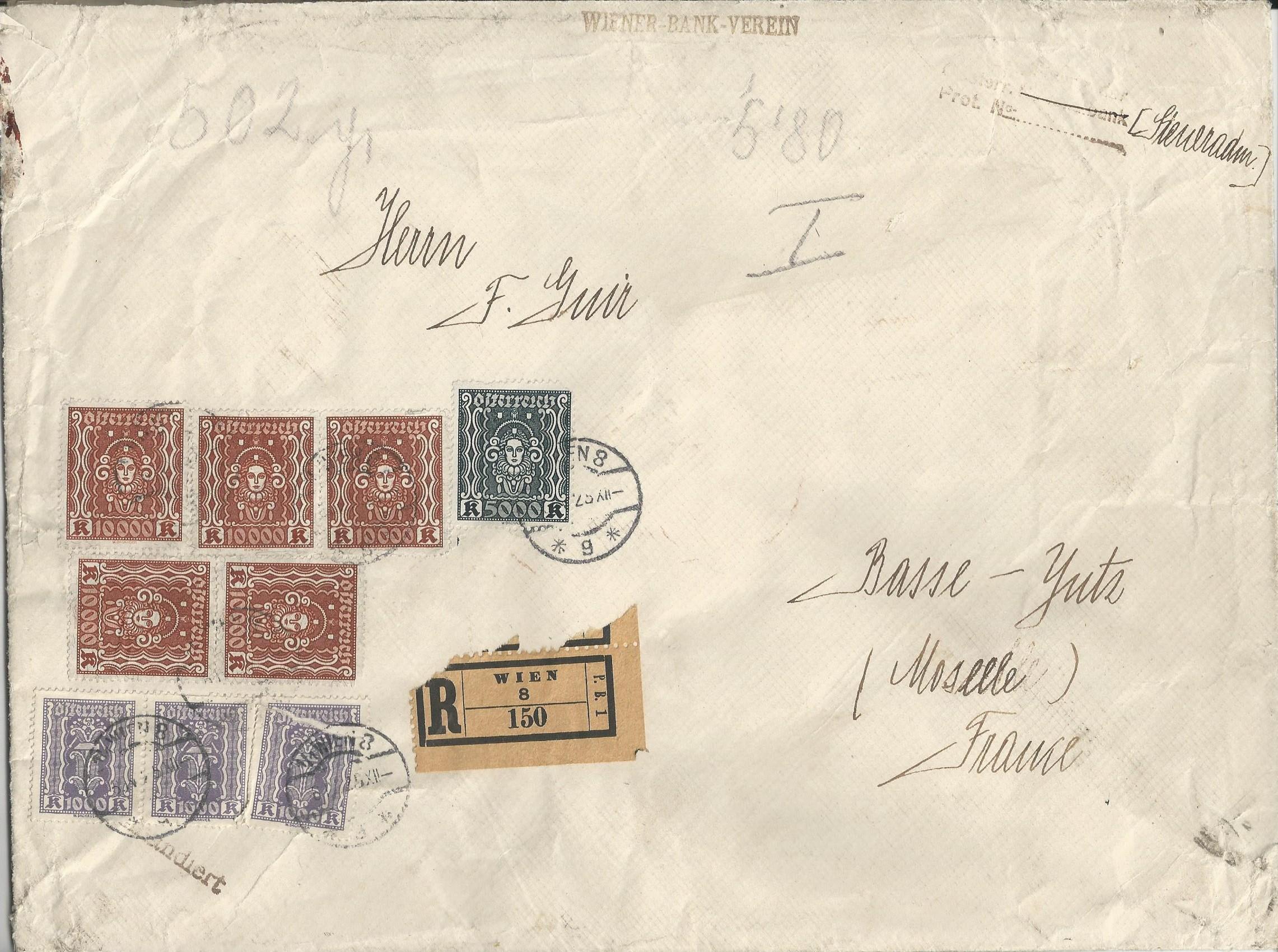 Inflation in Österreich - Belege - 1918 bis 1925 - Seite 16 Bild_468