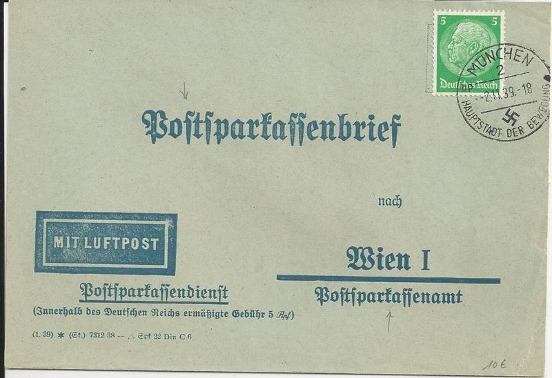 Posthornzeichnung  -  ANK 697-713  -  Belege - Seite 3 Bild_513