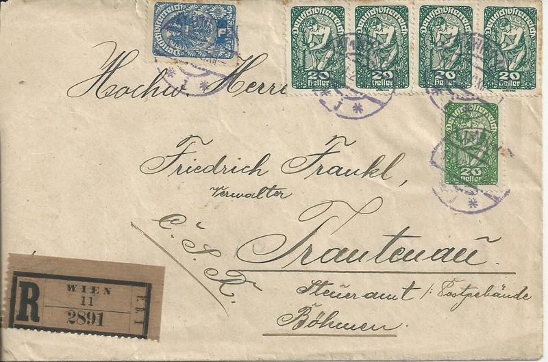 Inflation in Österreich - Belege - 1918 bis 1925 - Seite 16 Bild_543