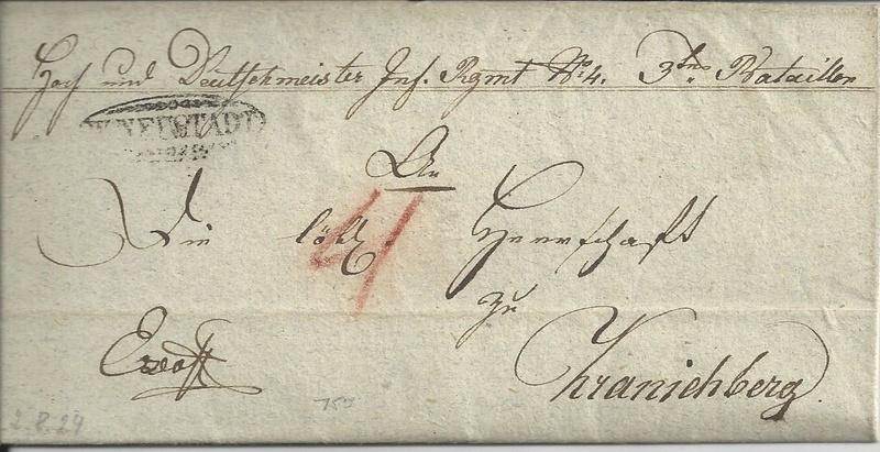 Vorphilatelie Österreich  -   Briefe aus der Vormarkenzeit - Seite 2 Bild_626