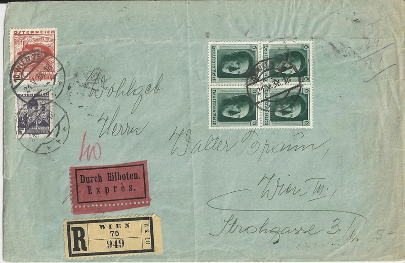 Österreich im III. Reich (Ostmark) Belege - Seite 13 Bild_631