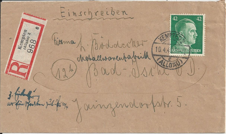 Österreich im III. Reich (Ostmark) Belege - Seite 13 Bild_632