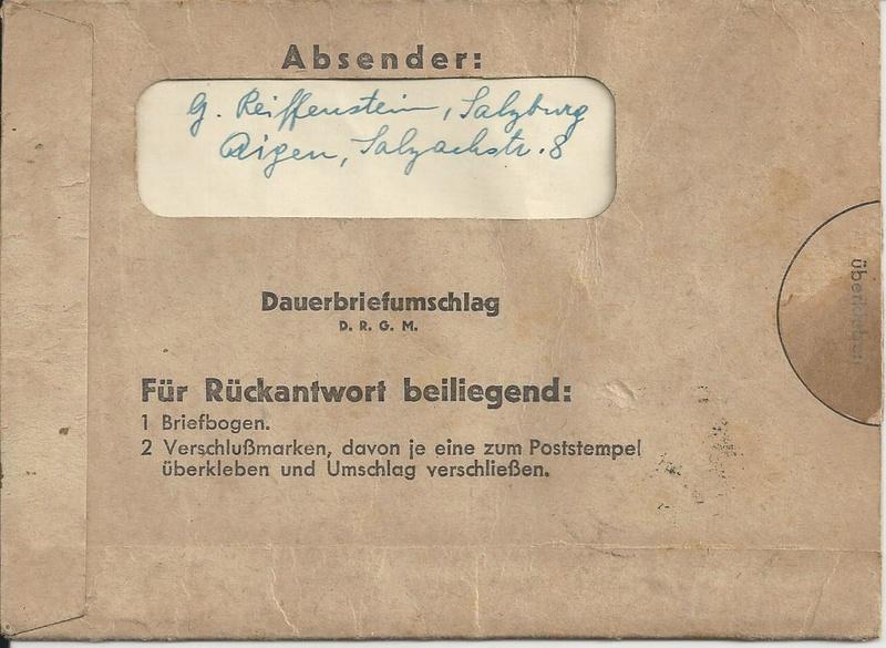 Feldpost II Weltkrieg Belege Bild_716