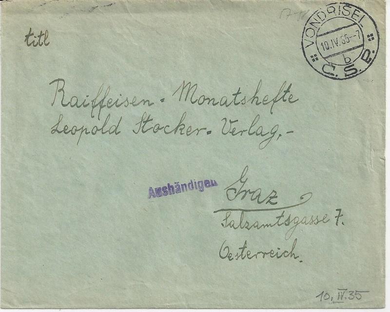 Österreich 1925 - 1938 - Seite 8 Bild_813