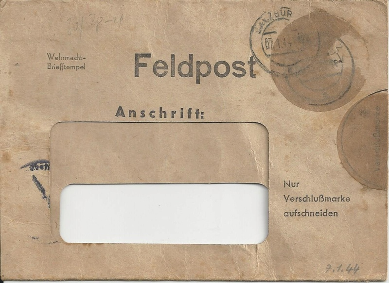 Feldpost II Weltkrieg Belege Bild_815