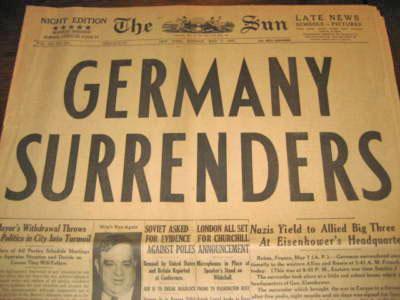 German surrender 73 years ago German10