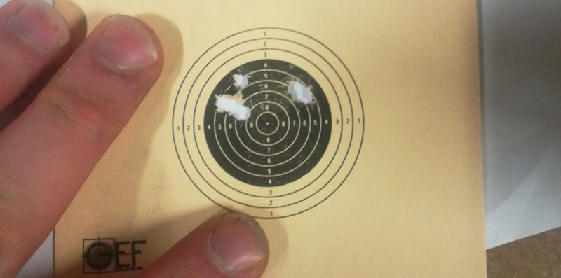 xocet .22 lunette chinoise munitions decathlon tir a 50m Mmscam10