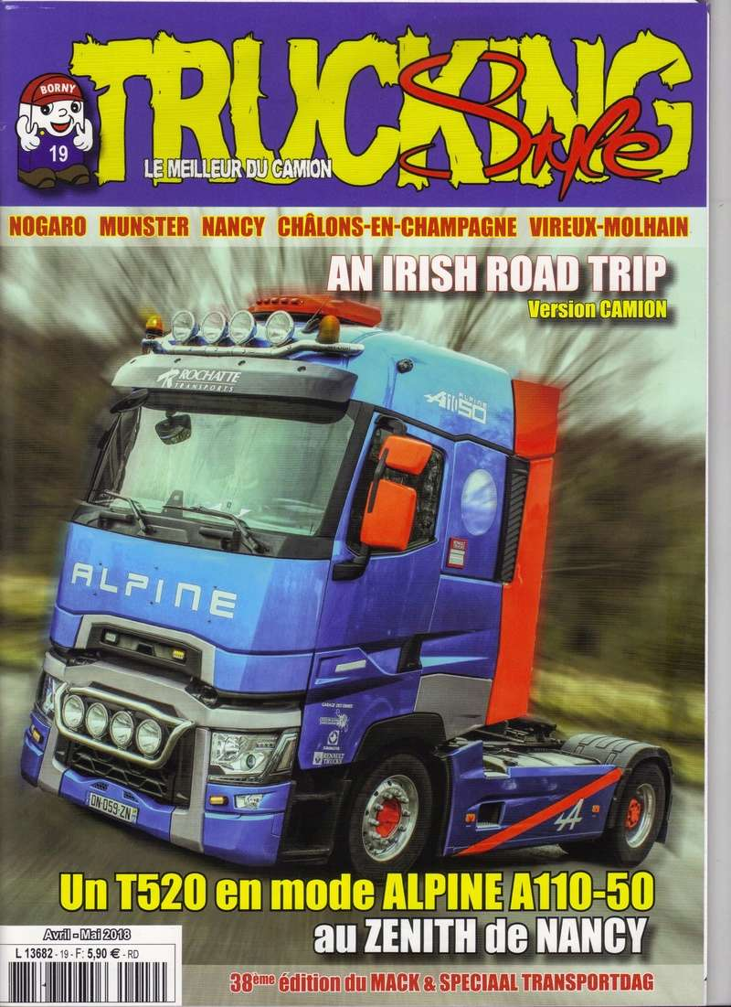 Trucking Style n°19 est disponible Trucki15