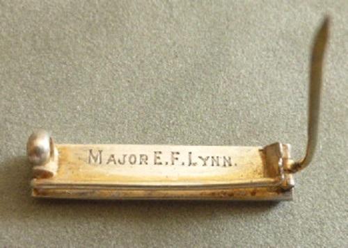 PRIVATE TO MAJOR EDISON FRANKLIN LYNN, D.S.O. M.C. RCR/CE E_f_ly12