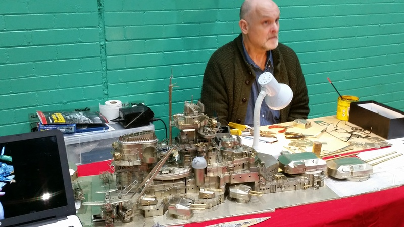 The Model Show - winter indoor swimming pool sailing - Poynton, Stockport 9,10th December 2017  20171215