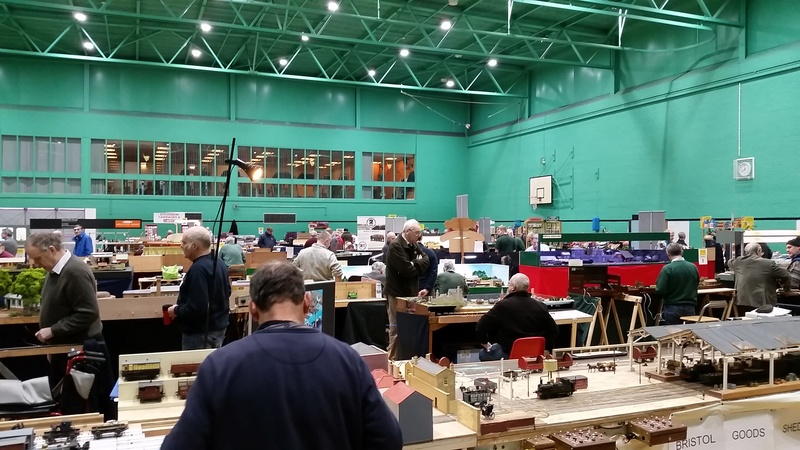 The Model Show - winter indoor swimming pool sailing - Poynton, Stockport 9,10th December 2017  20171216