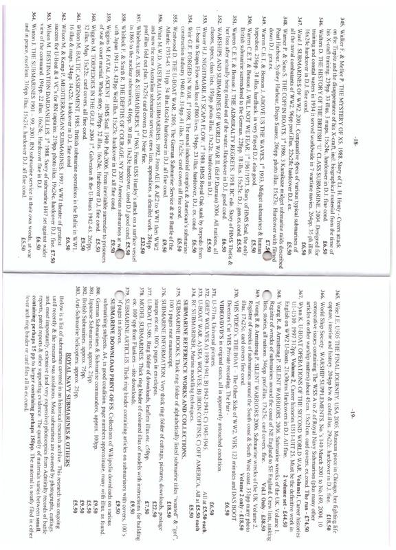 Submarines (Mostly British) - Fisher Nautical - Useful source for books etc.  Image_16