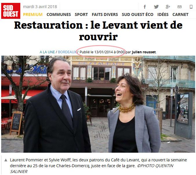 Le Café du Levant - Bordeaux - Gironde - France 2018-019
