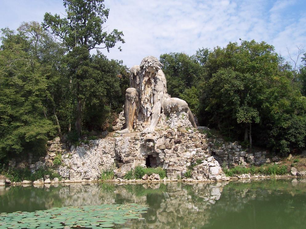 Le Colosse de L'Apennin - Florence - Italie Appenn10