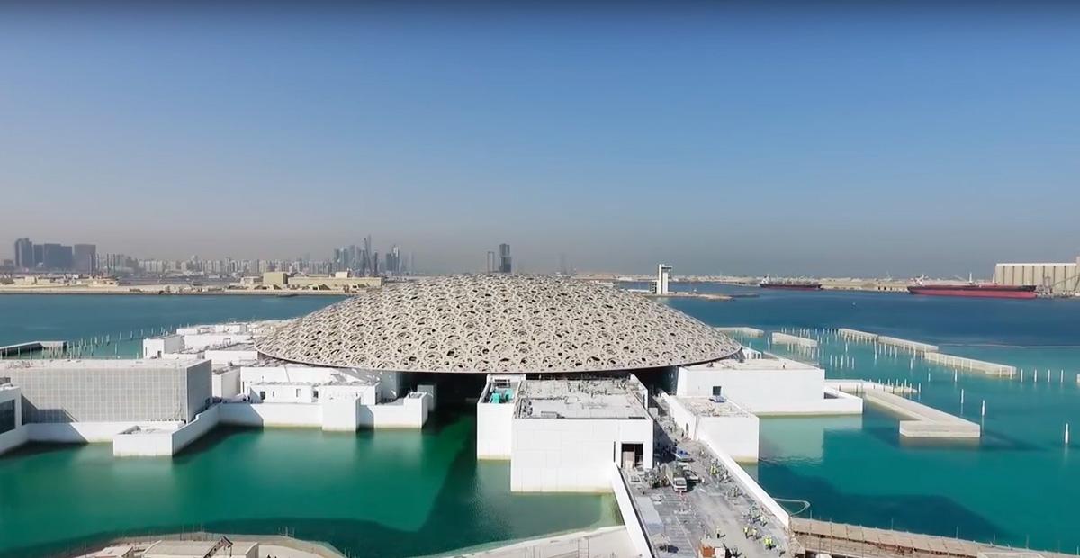 Le musée du Louvre d'Abu Dhabi - Emirats Arabes Unis Areal010