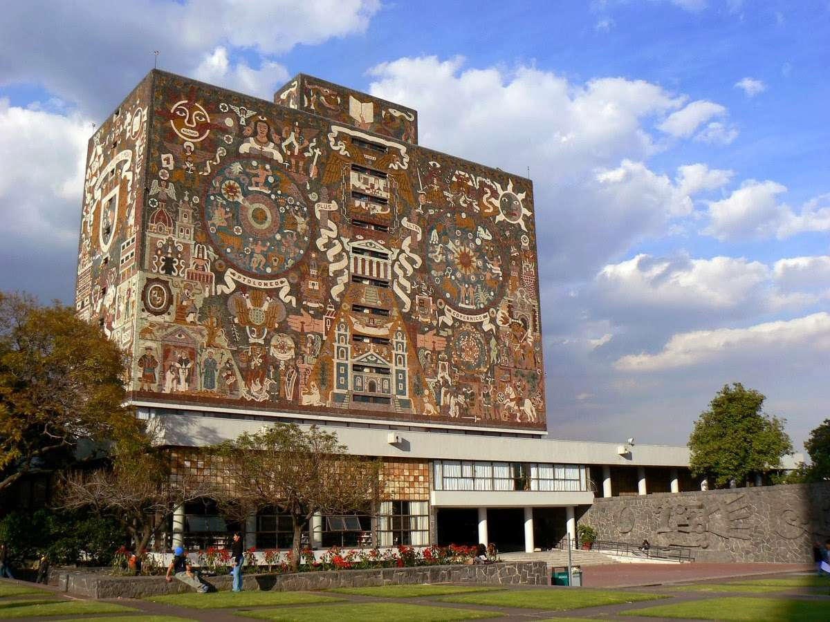 Bibliothèque centrale de l'Université Nationale Autonome du Mexique - Mexico - Mexique Biblio10
