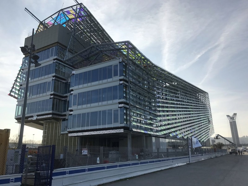 [Bientôt visible sur Google Earth] L'immeuble Metropole Rouen-Normandie - Rouen - Seine Maritime - France Chanti10