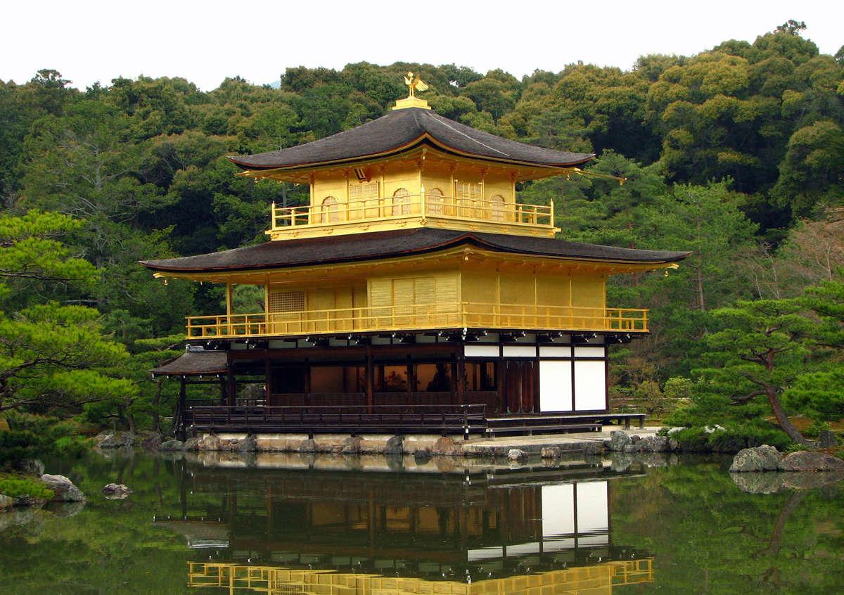 "Kinkaku ou ""Le pavillon d'or"" - Kyoto - Japon Kinkak10"