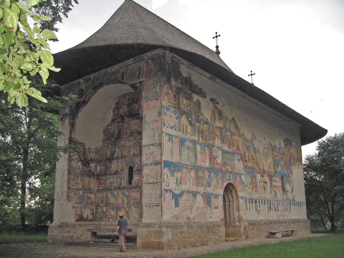 L'église de Arbore - Roumanie Photo-10