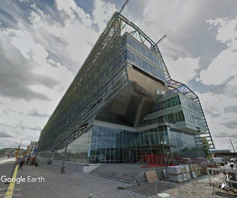 [Bientôt visible sur Google Earth] L'immeuble Metropole Rouen-Normandie - Rouen - Seine Maritime - France Www104