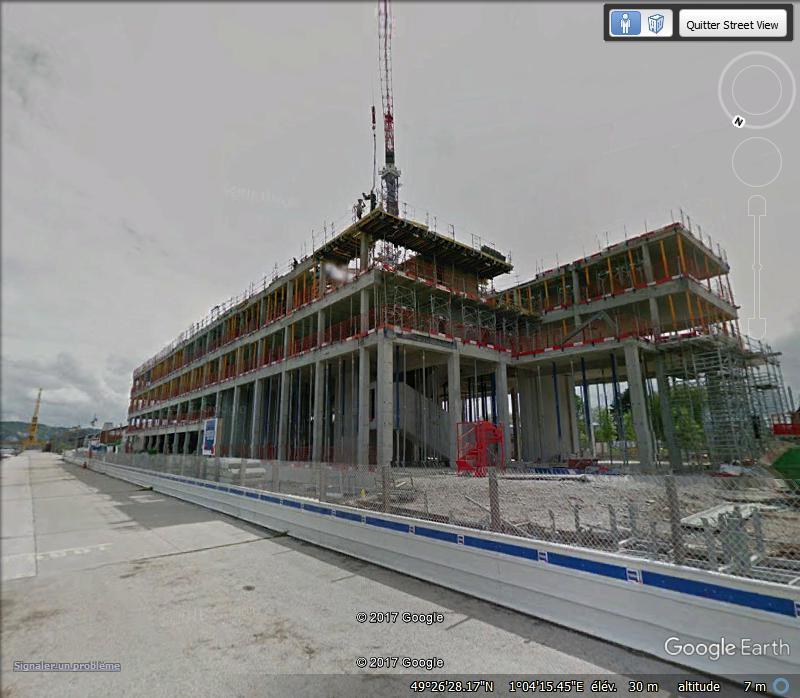 [Bientôt visible sur Google Earth] L'immeuble Metropole Rouen-Normandie - Rouen - Seine Maritime - France Www114