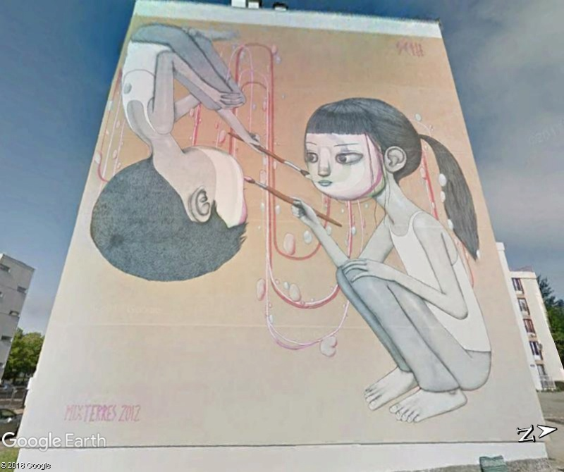 STREET VIEW : les fresques murales en France - Page 23 Www157
