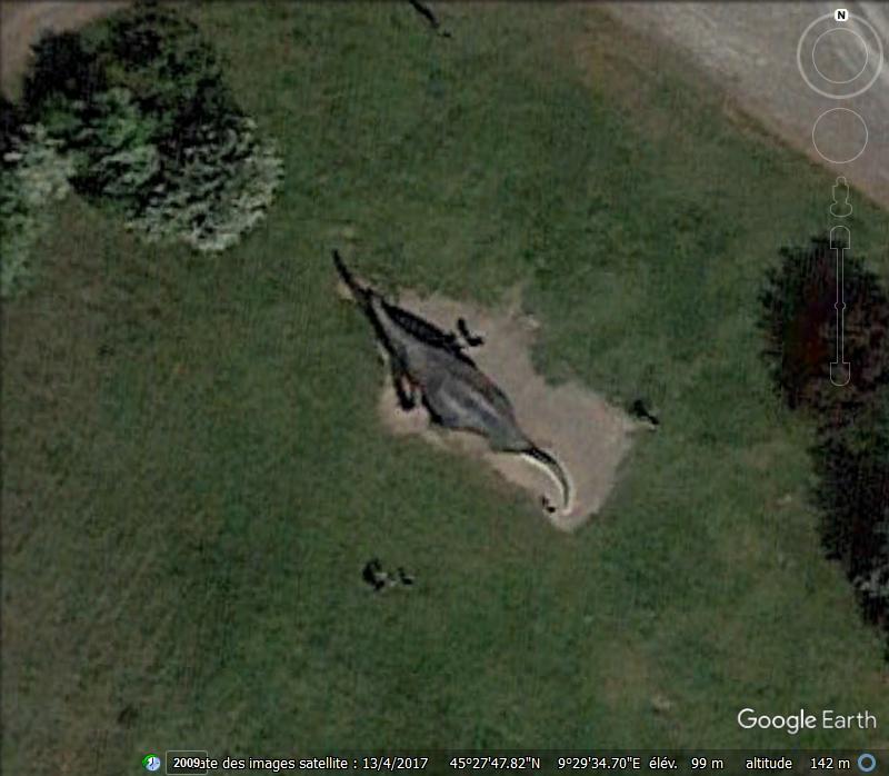 Brontosaurus au Parc de la Préhistoire - Rivolta d'Adda - Italie Www16