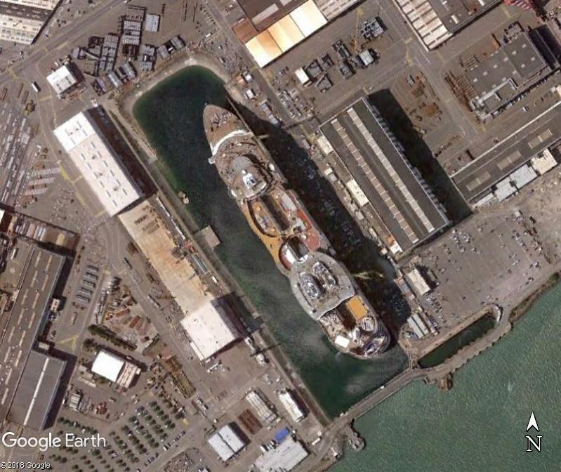 Le «Symphony of the Seas», plus gros paquebot du monde, quitte Saint-Nazaire Www183