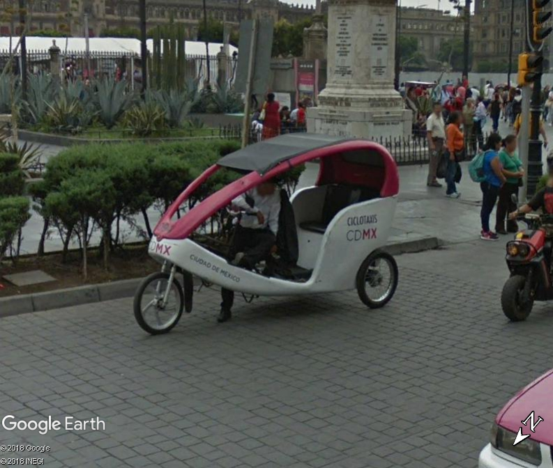 STREET VIEW : Mini Taxi,Mexique Www247