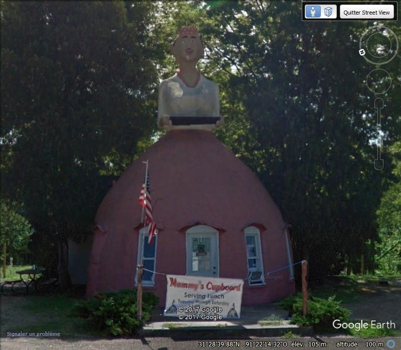 Restaurant jupe à Natchez, Mississippi - USA Www28