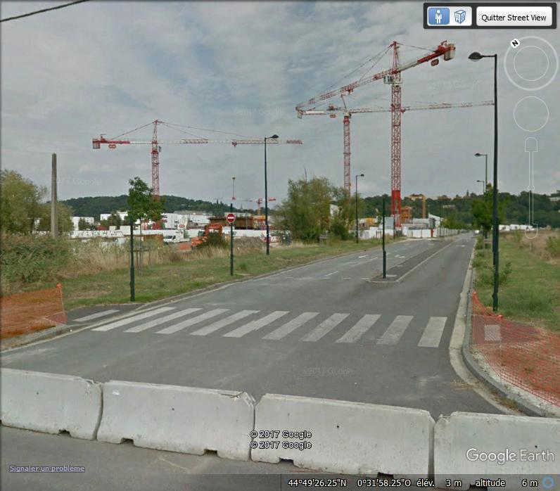 [Bientôt visible sur GoogleEarth] Projet de grande salle de spectacle - Bordeaux - France Www35