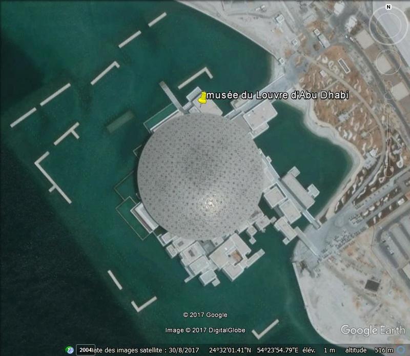 Le musée du Louvre d'Abu Dhabi - Emirats Arabes Unis Www45
