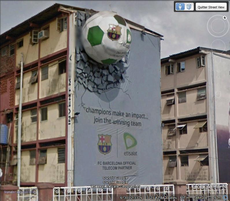 Pub Etisalat à Lagos - Nigeria. Www54