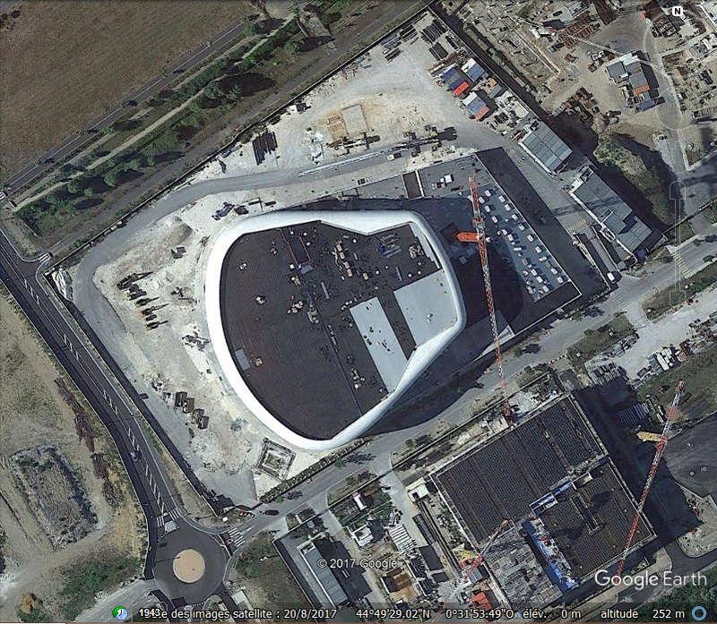 [Bientôt visible sur GoogleEarth] Projet de grande salle de spectacle - Bordeaux - France Www71