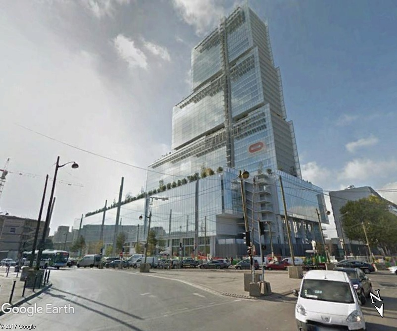 [Bientôt visible sur Google-Earth] Futur Palais de Justice - Paris Www84