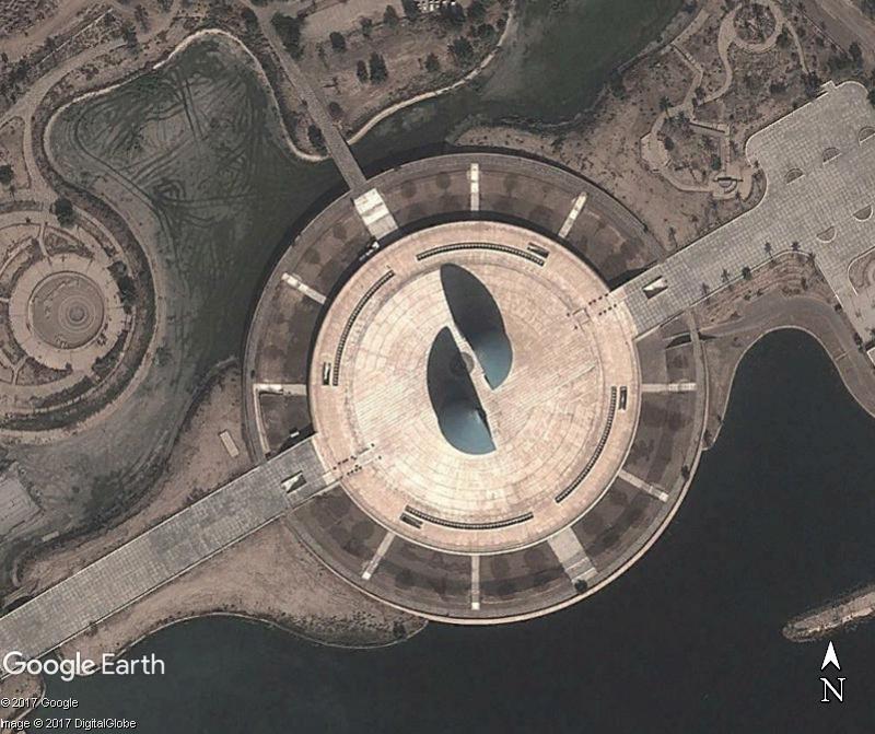 Le monument d'Al-Shaheed - Bagdad - Irak. Www99