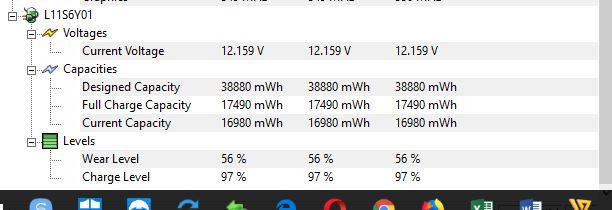 Niveau de puissance batterie Captur23