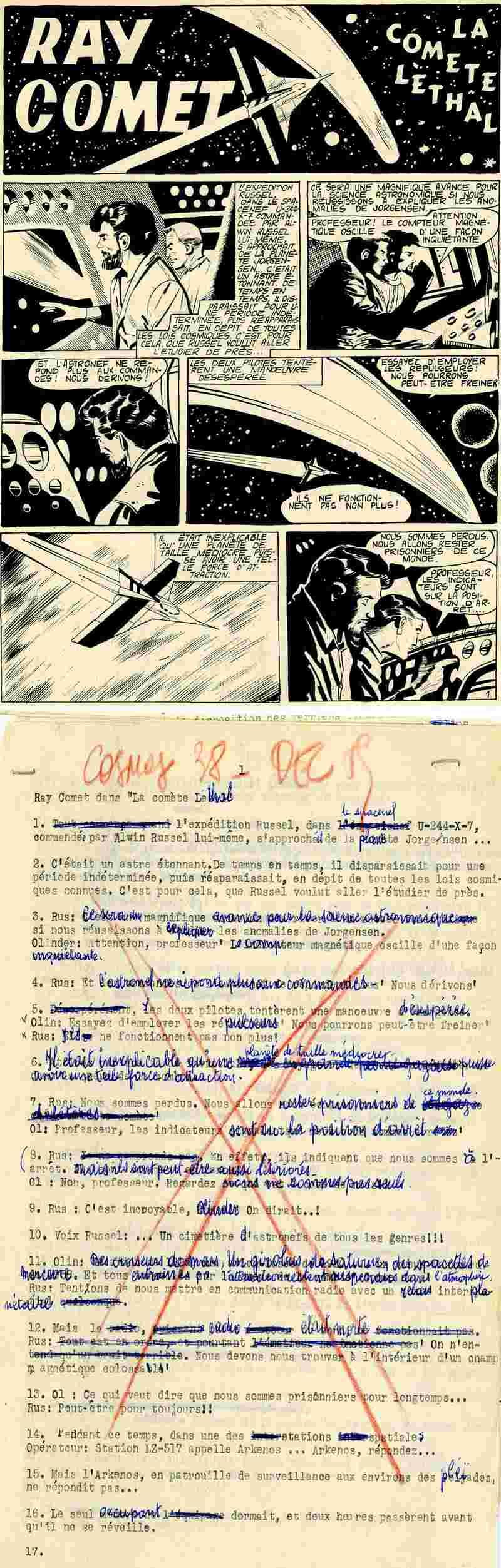 COSMOS et Ray Comet Cosmos10