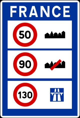 80km/h sur les routes c'est signé. C25a12